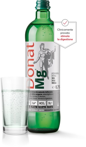 Donat Mg è l'acqua minerale naturale